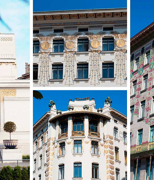 Secession building &<br/>Otto-Wagner houses image 1