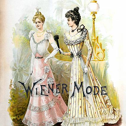 Fashion hotspot in the 19th Century